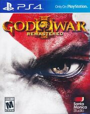 God of War III 3 Remastered PS4 Game Brand New Sealed