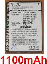Batterie 1100mAh type FA889AA#AC3 HSTNH-F13C HSTNH-K13B Pour HP iPAQ 500