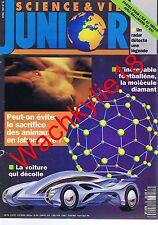 Science et vie junior n°35 - 04/1992 Expérimentation animale Footbalène Bostwana