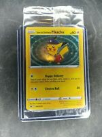 Special Delivery Pikachu SWSH074 Pokemon Center Exclusive Holo Promo Card SEALED