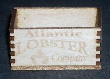 Dollhouse Miniature Atlantic Seas Lobsters Crate 1:12 Scale Food Market Store