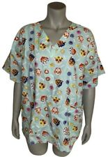 Nickelodeon Nursing Medical Pediatric Character Scrubs Paw Patrol Plus Sz 1X Nwt