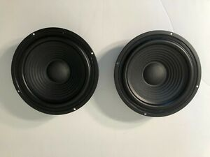 """One Pair (Two) Eight Inch 8"""" Passive Radiators/Woofers ***New Open Box***"""