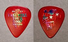 KISS Ace Frehley Farewell tour City prism on st red pick - Portland, ME 6/15/00