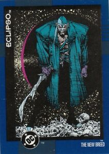 DC COMICS COSMIC TEAM TRADING CARD #143  THE NEW BREED   ECLIPSO  SKYBOX