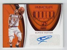 ELFRID PAYTON 2017/18 PANINI IMMACULATE AUTOGRAPHED CARD 2/25