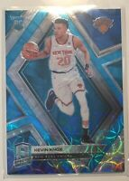 2018-19 Panini Spectra Kevin Knox Knicks Rookie Card Neon Blue Prizm 35/75