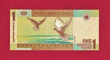 1 ONE POUND 2006 - (Pick-64a) SUDAN BEAUTIFUL UNC BANKNOTE - PRINTER: SCPP SUDAN