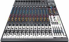 NEW Behringer XENYX X2442USB 16-Channel USB i/O Mixer w/ 24-Bit Multi-Effects