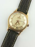 A RARE GENTS 18K PINK GOLD OMEGA CONSTELLATION AUTOMATIC WRIST WATCH