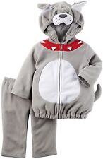 New Carter's Baby Boys' Costumes Grey Dog 18 Months Clothes Toddler Bulldog