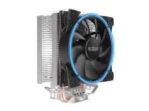 PCCOOLER GI-X3 CPU-Kühler, 120mm Lüfter in Blau, 125W TDP, Für Intel und AMD