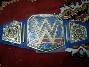 Universal Championship Wretling Leather Belt Replica Title Adult Size