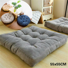Round/Square Large Tatami Cushions Seat Mat Floor Filled Pad Sofa Bench Balcony