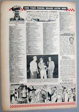 Original 1953 Purina Feed Ad Photo featuring Sam Goldsmith of Wauseon Ohio