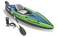Inflatable Kayak 1 Person Sea Water Sports Sun Journey Wilderness 30x15x108