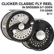 Fliegenrolle #5/7 CLA Fly Reel Fliegenfischen Aluminium CNC Large Arbor, Graphit