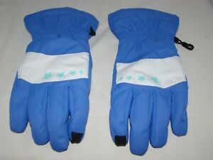 Land's End Winter Snow Ski Gloves Ez Touch Phone Kids Sz Large NWOT