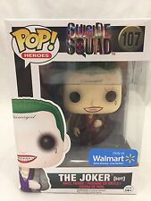 Funko POP! Heroes SUICIDE SQUAD THE JOKER Exclusive - Damaged Packaging