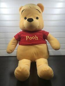 "Disney Winnie The Pooh Large Plush Bear 22"" Jumbo Stuffed Animal Disney"