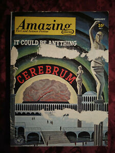 AMAZING Stories January 1963 KEITH LAUMER JACK EGAN BEN BOVA SONYA DORMAN