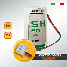 TECNOALARM LSH20 3,6V 13Ah Batteria al Litio SAFT