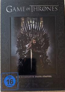 Game of Thrones - die komplette 1. Staffel - 5 DVDs - sehr guter Zustand