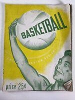1949 Chicago Stadium Review Basketball Program Northwestern Purdue DePaul