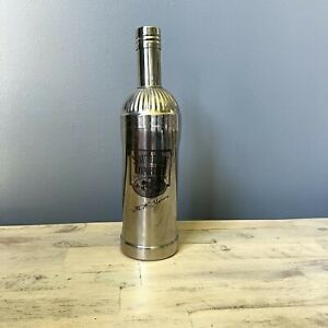 Southern Comfort Stainless Steel Shaker Mixer 3 Piece Bottle Shaped Bar Man Cave