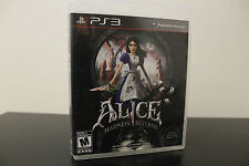 Alice: Madness Returns  (Sony Playstation 3, 2011) *Tested / Complete