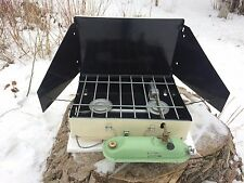 Vintage 1960s USSR Soviet Camping Stove 2 Burner Petrol Primus clone coleman