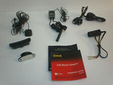 (6pc) Xm Satellite Radio Complete Fm Direct Adapter Kit w/Installation Guides