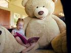 "Huge Giant Teddy Bear 93"" High Quality Plush Life Size Stuffed Animal"