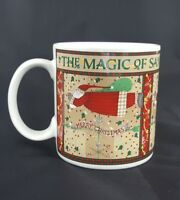 Debbie Mumm Coffee Mug Christmas Cup Magic Of Santa Tea Folk Art Replacement
