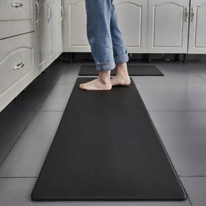 1pcs PVC Kitchen Carpet Waterproof Oilproof Kitchen Mat Non Slip Floor Door mat