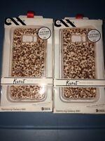 Lot Of 2pc Case-Mate Karat Case for Samsung Galaxy S8+/8plus Rose Gold