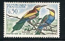 STAMP / TIMBRE FRANCE OBLITERE N° 1276 OISEAUX - LES GUEPIERS