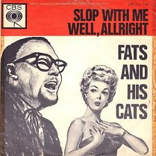 "7"" Fats And His Cats – Slop With Me // Dutch 1963"