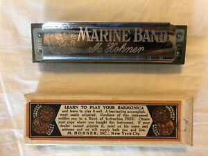 M. Hohner Marine Band Harmonica C Key Germany
