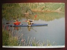 POSTCARD SOCIAL HISTORY TRYING OUT THE NEW CANOE