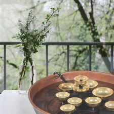 Woodstock Chimes - Water Bell Fountain - Copper Bowl - 10 Brass Bells WWBF2