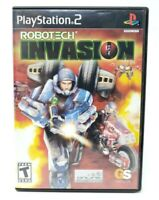 Robotech Invasion Sony PlayStation 2 PS2 Game