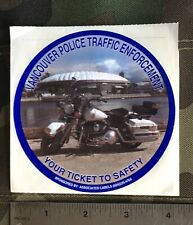 Vancouver Police Traffic Enforcement