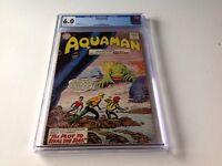 AQUAMAN 8 CGC 6.0 AQUALAD NICK CARDY JACK MILLER PLOT TO STEAL SEAS DC COMICS