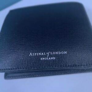 Aspinal of London Authentic Leather Wallet