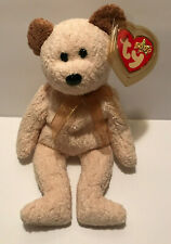 TY BEANIE BABIES HUGGY THE TEDDY BEAR-Mint Condition-Retired-2000