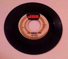 The Videls I'll Forget You / Mister Lonely Doo Wop 45 RPM JDS KB-101