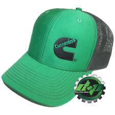 Dodge Cummins trucker hat ball mesh richardson summer green black snap back