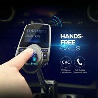 Wireless In-Car Bluetooth FM Transmitter MP3 Radio Adapter Charge Car USB K G6J2