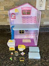 Moose Disney Shopkins Happy Places Belle Happy Townhouse Dollhouse w/ Furniture+